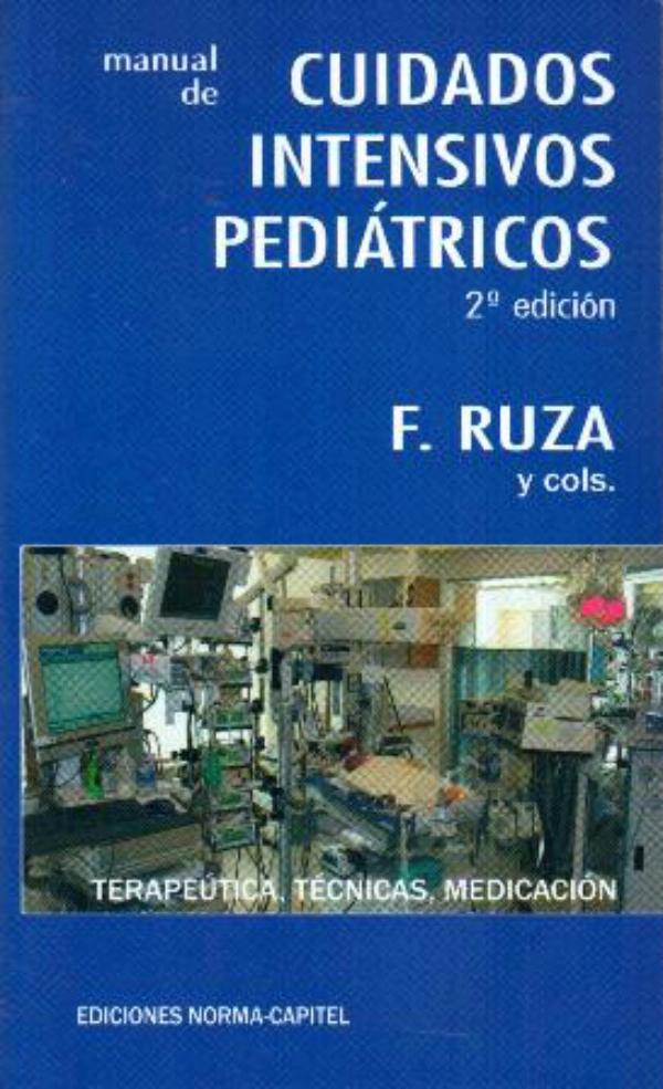 manual de cuidados intensivos pediatricos ruza pdf